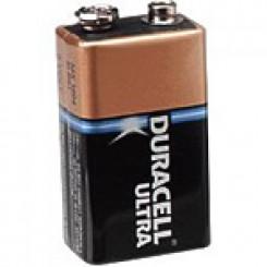 Duracell 9 volt ultra batteri