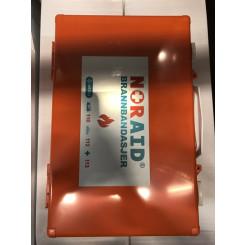 FOR BURNS teppe 100 x 200 cm brannbandasje i koffert